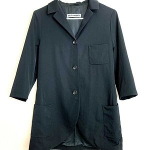 Jil Sander Blazer Jacket Size Medium (?) Black